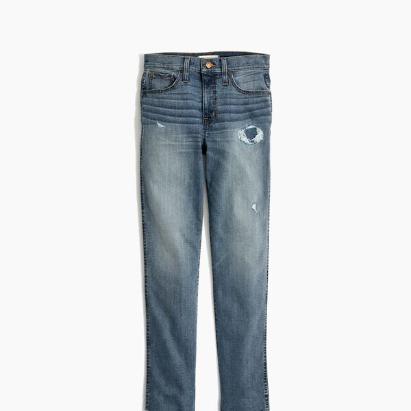 Madewell Stovepipe Jeans in Holburn Wash