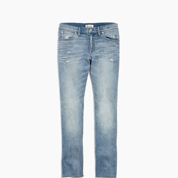 Madewell The Slim Boyjean in Carlson Wash