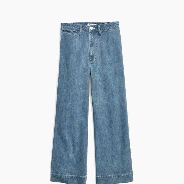 Madewell Emmett Wide-Leg Crop Jeans