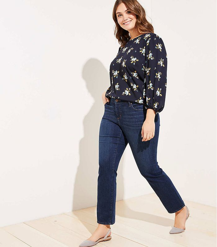 0021f177d6be6c 15 Plus-Size Fashion Pieces to Shop From Loft | Who What Wear