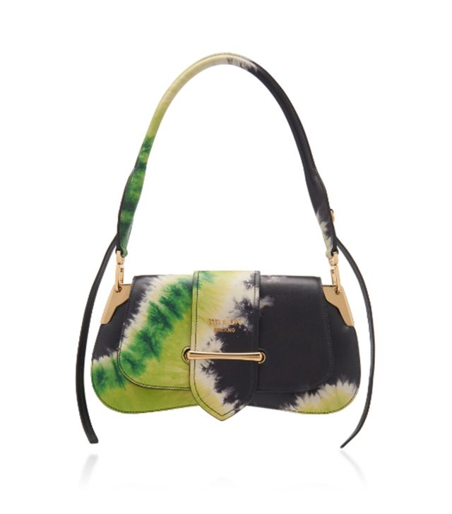 Prada Tie-Dye City Calf Pattina Bag