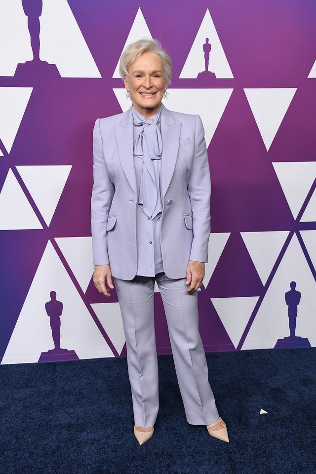 Glenn Close outfits during award season