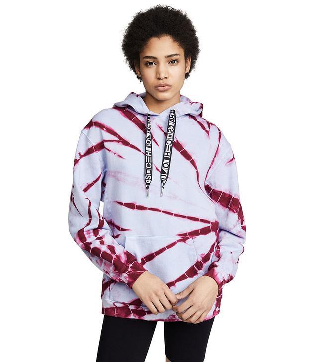 Proenza Schouler PSWL Tie Dye Hooded Sweatshirt