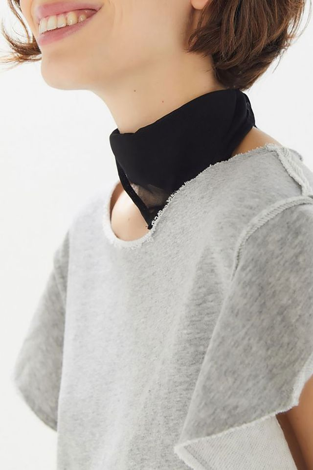 Urban Outfitters Mesh Scarf
