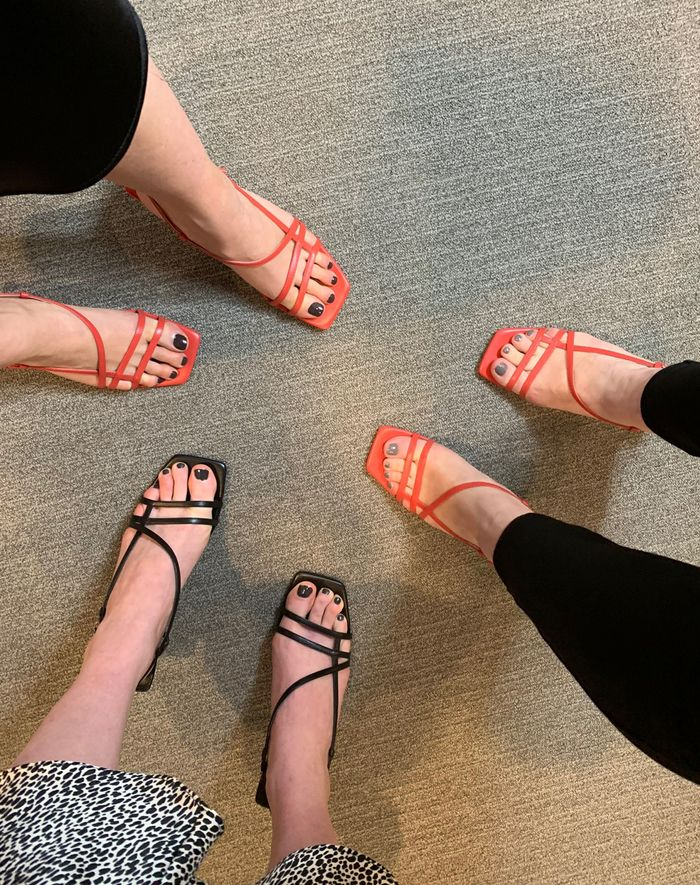 c38f861ad23 Topshop's Strappy Sandals Sold Out Instantly   Who What Wear UK