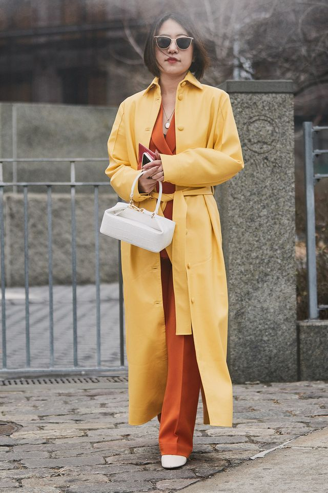 best street style from the fall 2019 shows