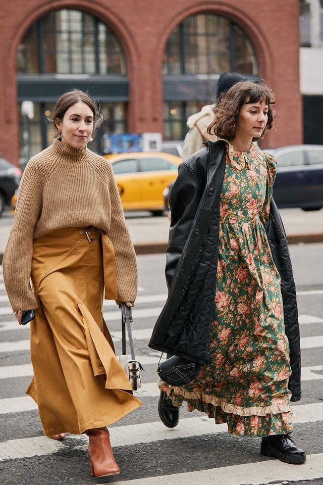 fall 2019 NYFW street style