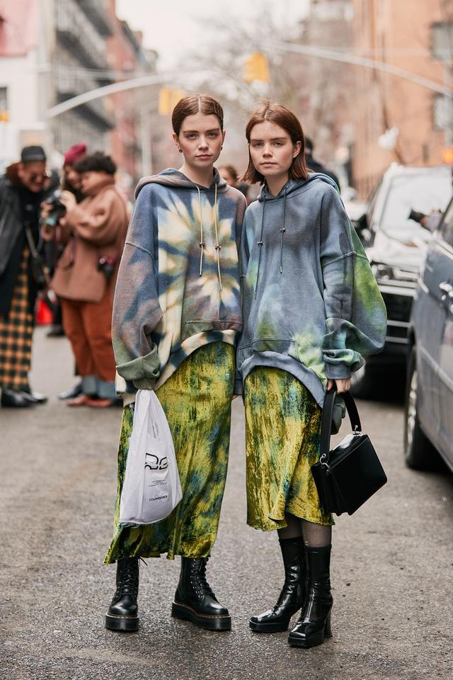 NYFW street style fall 2019