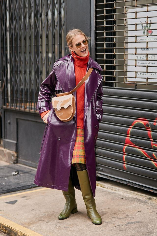 street style from NYFW fall 2019