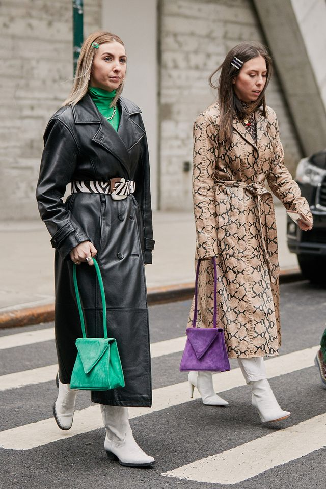 best street style from NYFW