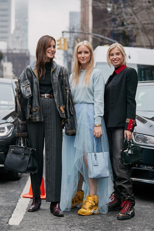 fall 2019 New York Fashion Week street style