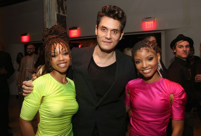 <p><strong>WHO:</strong> Chloe x Halle and John Mayer</p>