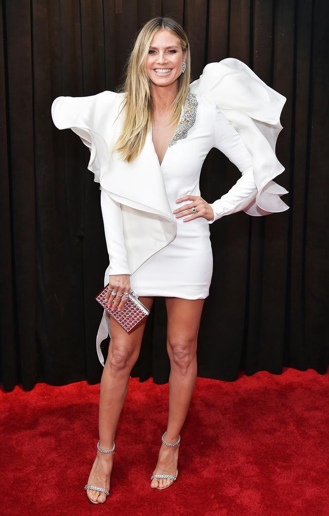 <p><strong>WHO:</strong> Heidi Klum</p>