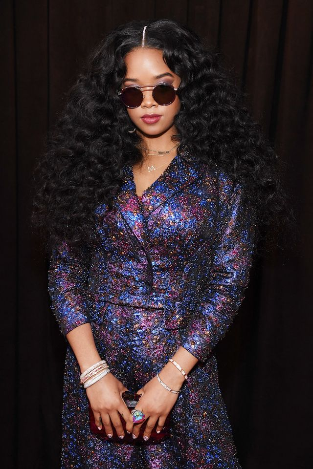 H.E.R. at the 2019 Grammy's