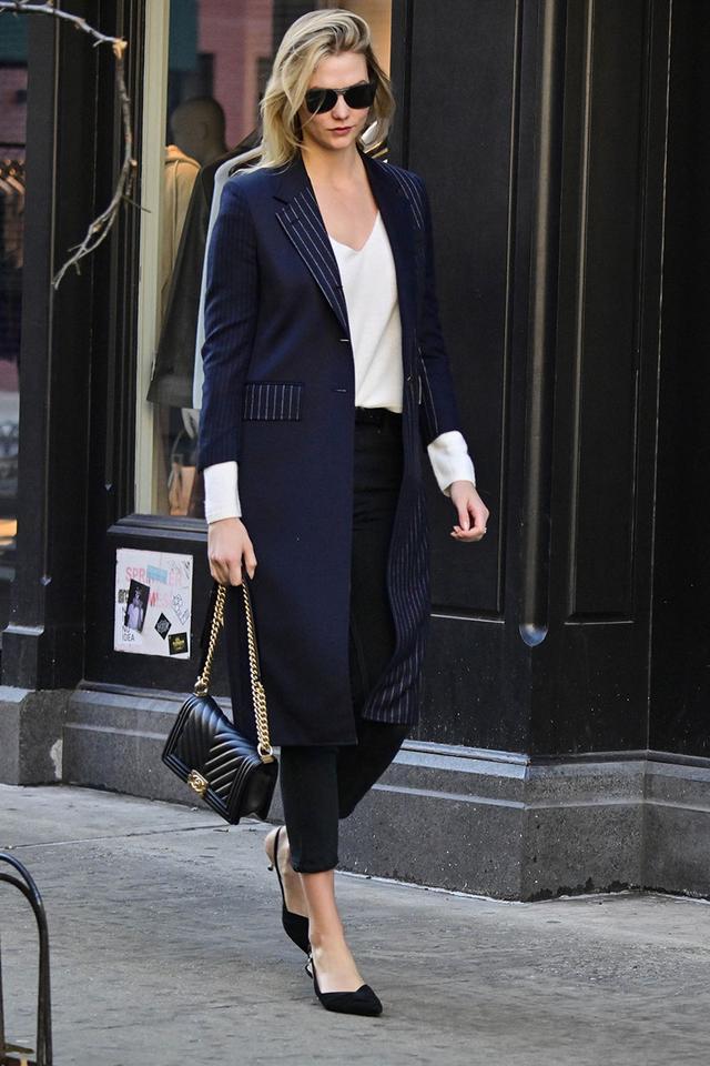 Karlie Kloss skinny jean mistake