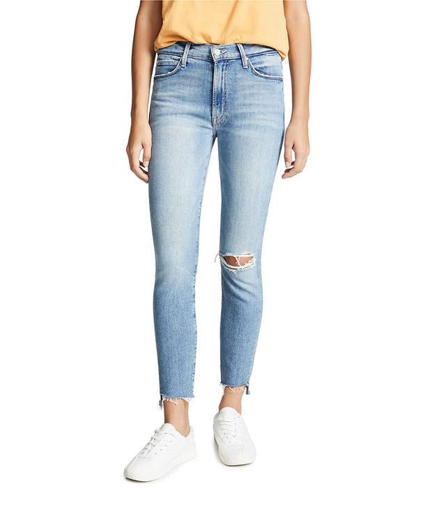 Mother Stunner Fray Jeans