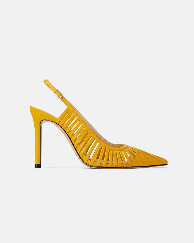 Zara Strappy Slide Heels