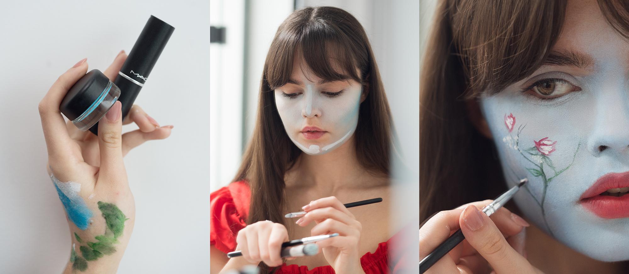 Beauty Spock makeup