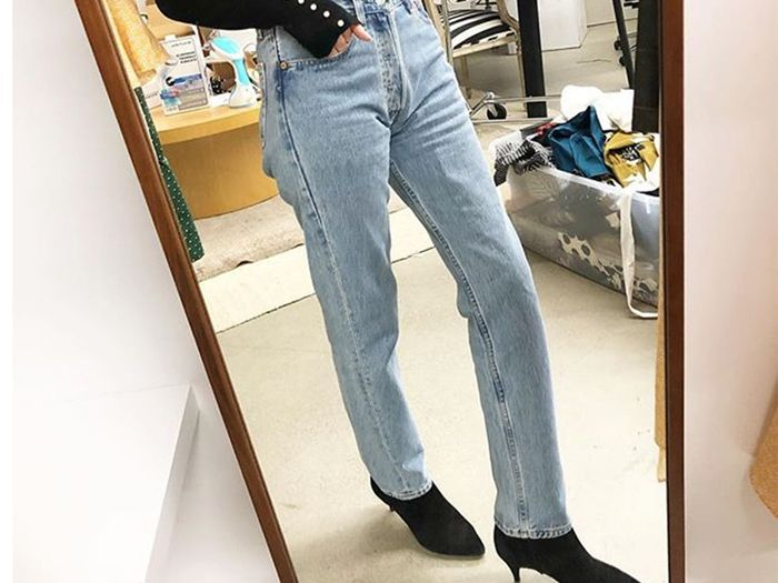 35c0d550440f The Newest Denim Trends and Styles | Who What Wear
