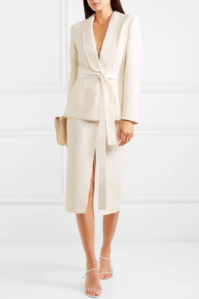 Racil Mel Crepe Midi Skirt
