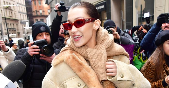 Bella Hadid Is Endorsing the Bland Trend That's Sweeping NYC