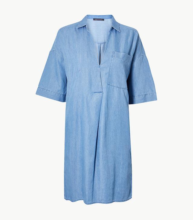 Marks & Spencer Short Sleeve Shirt Dress