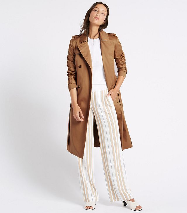 Marks & Spencer Pure Cotton Longline Trench