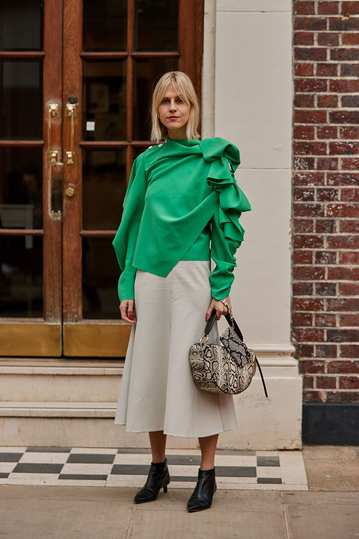 115b7f97442 The Latest Street Style From London Fashion Week