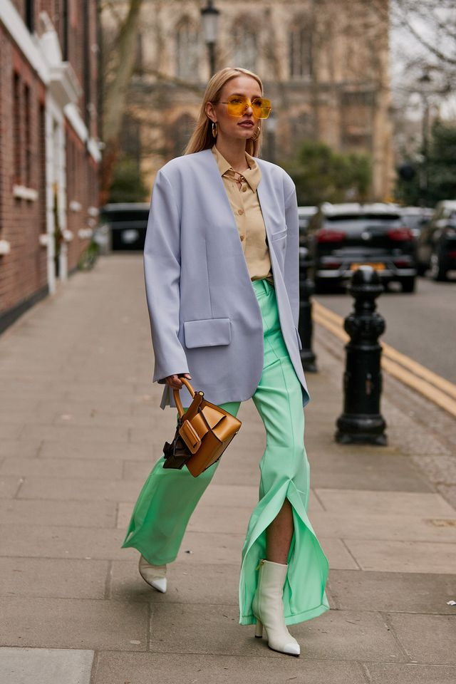 best street style at LFW