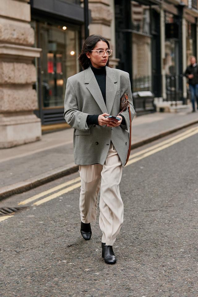 best street style at London fashion week