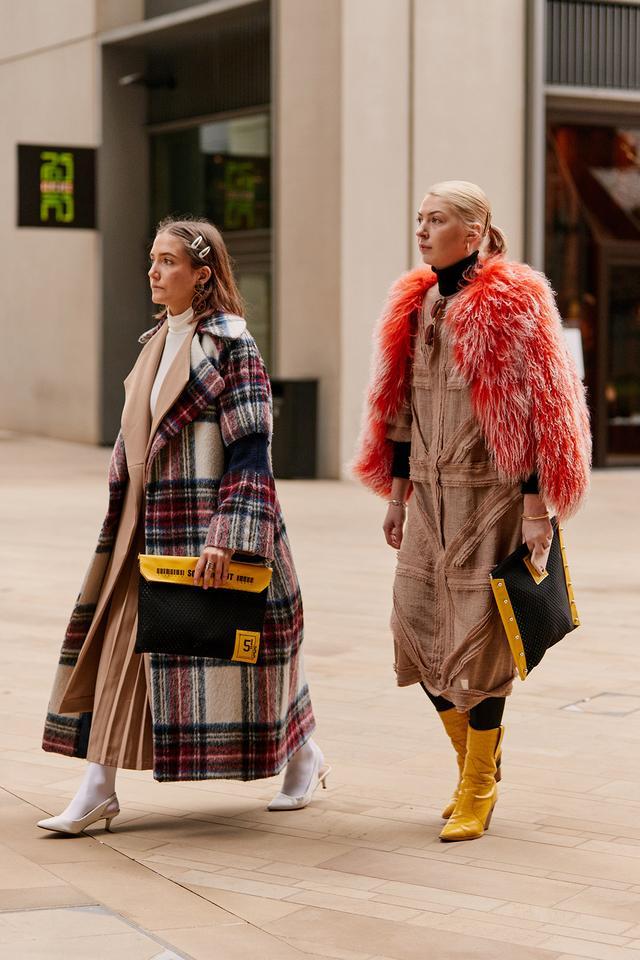 fashion week street style in London