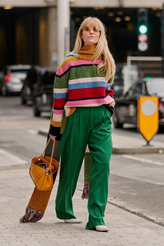 best street style shots from London fashion week