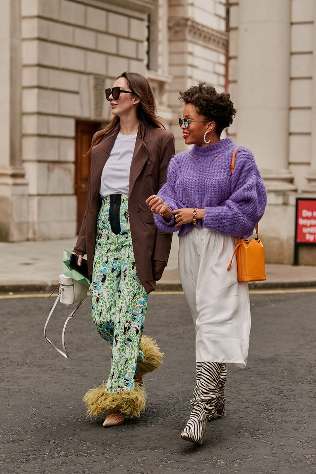 best street style shots at London fashion week