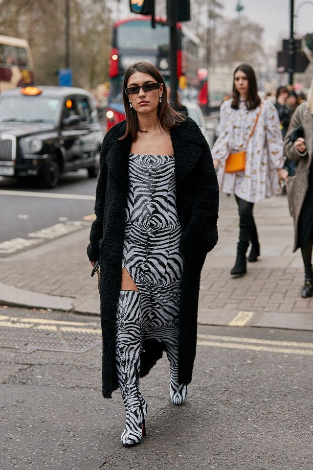 street style at LFW