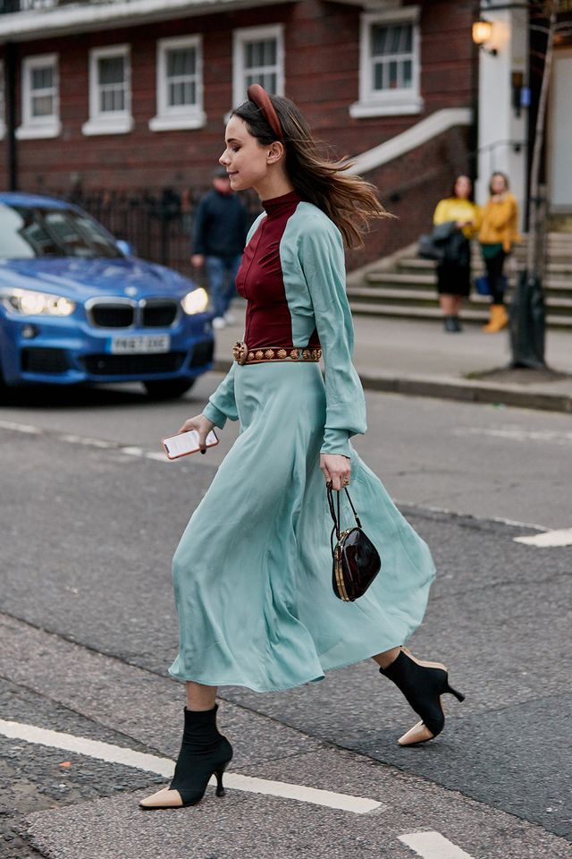street style outfits from London