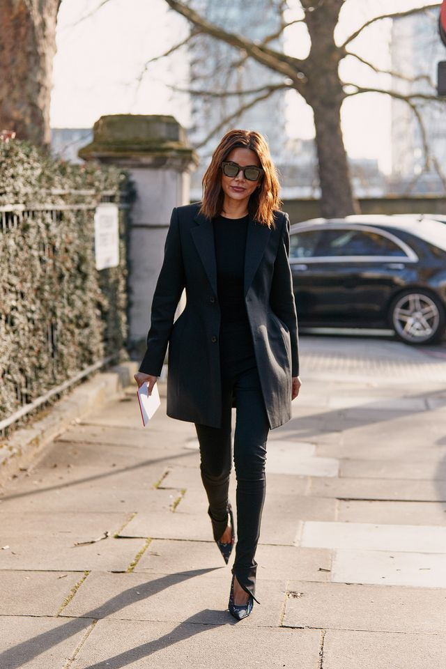 London fashion week fall 2019 street style