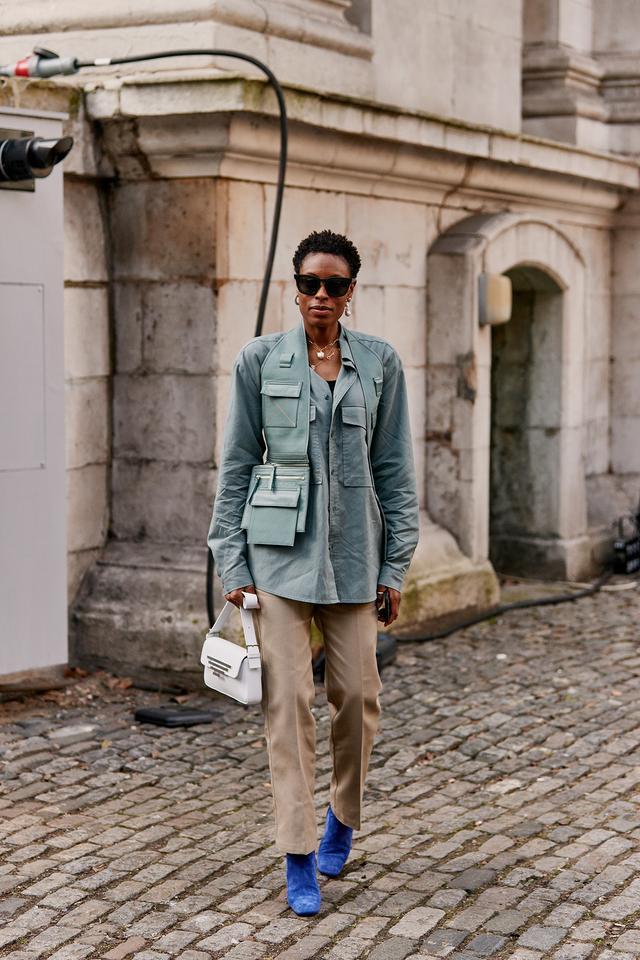 London fashion week street style fall 2019