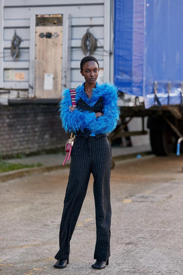 best street style from London fashion week