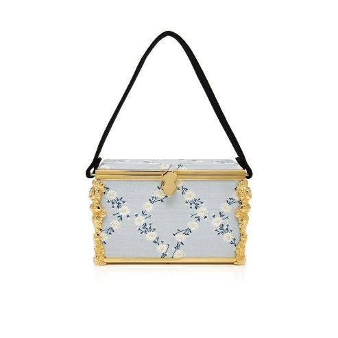 Markarian Emmeline Floral-Print Box Bag