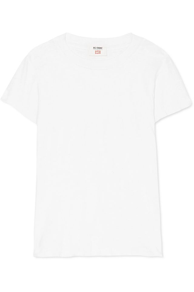 Re/Done Hanes 1960s Cotton-Jersey T-Shirt