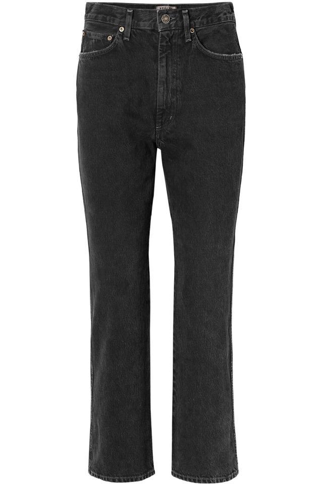 Agolde Pinch Waist High-Rise Flared Jeans