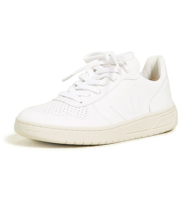 Veja V-10 Lace-Up Sneakers