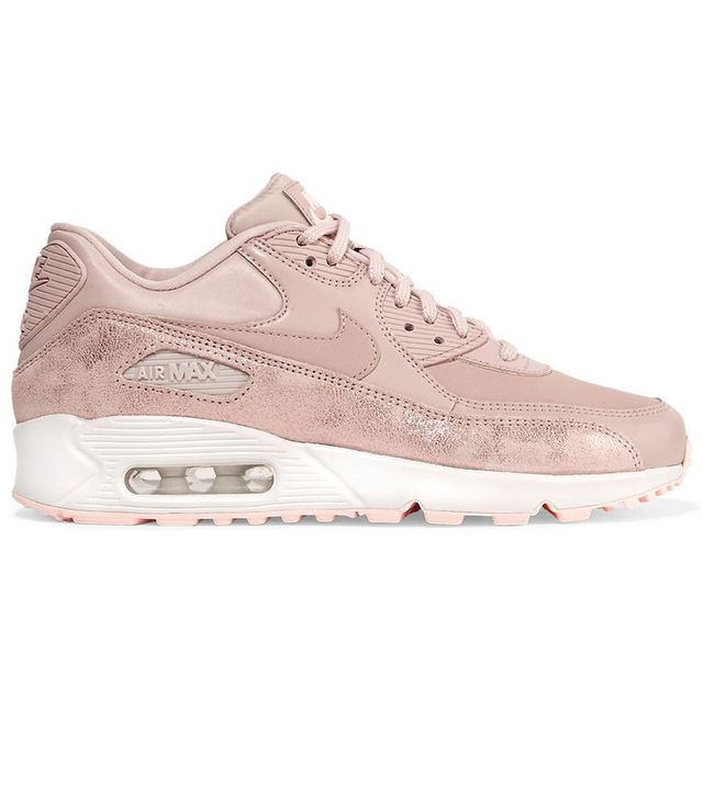 Nike Air Max 90 Premium Cracked Metallic Sneakers