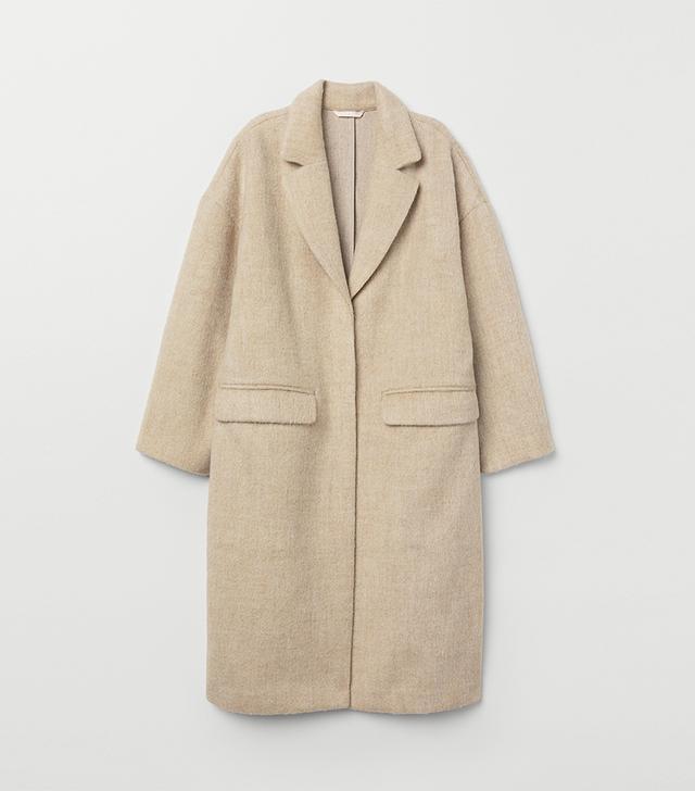 H&M Knee-Length Coat