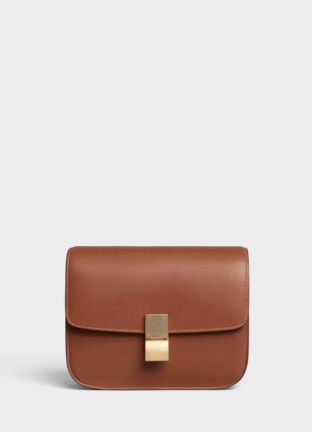 Celine Medium Classic Bag in Natural Calfskin