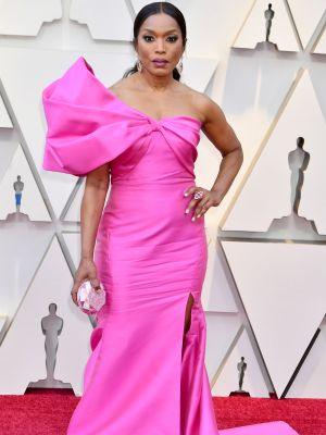 Sit Down, Over-40 Women Led the Pink Trend at the Oscars