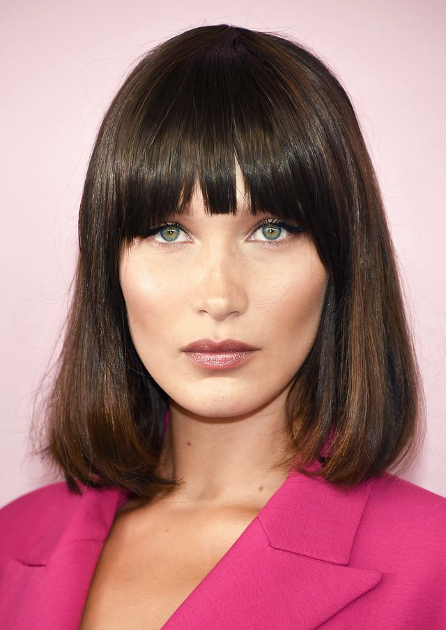 Bella Hadid best haircuts for every face shape