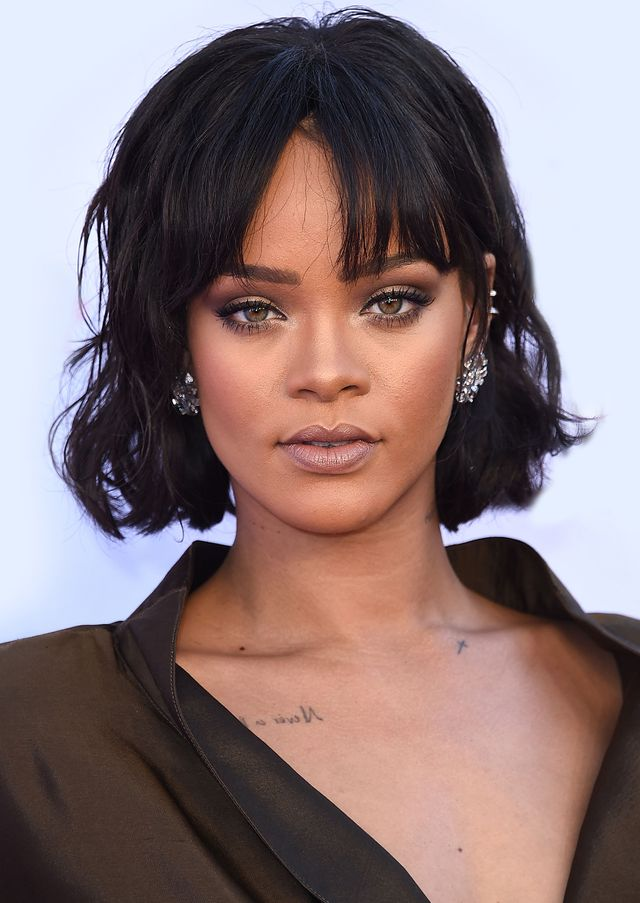 Rihanna best haircuts for every face shape