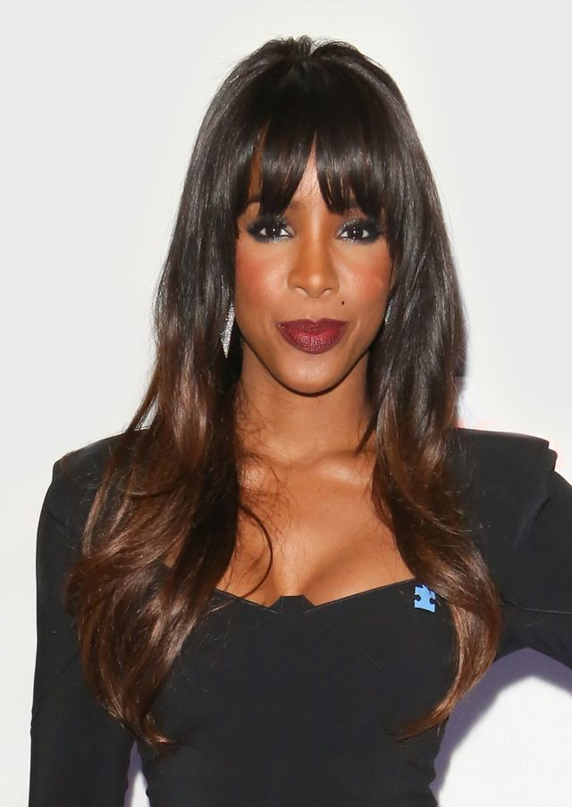 Kelly Rowland best haircuts for every face shape