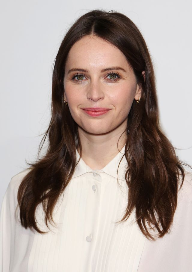 Felicity Jones best haircuts for every face shape